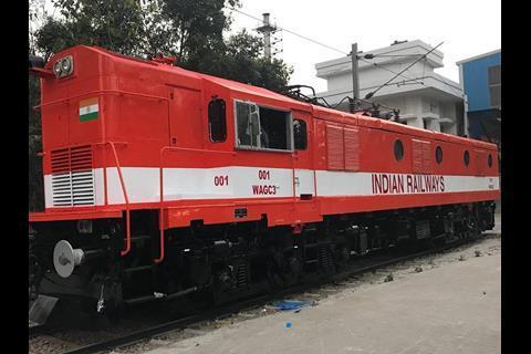 Diesel locomotive rebuilt as an electric | News | Railway